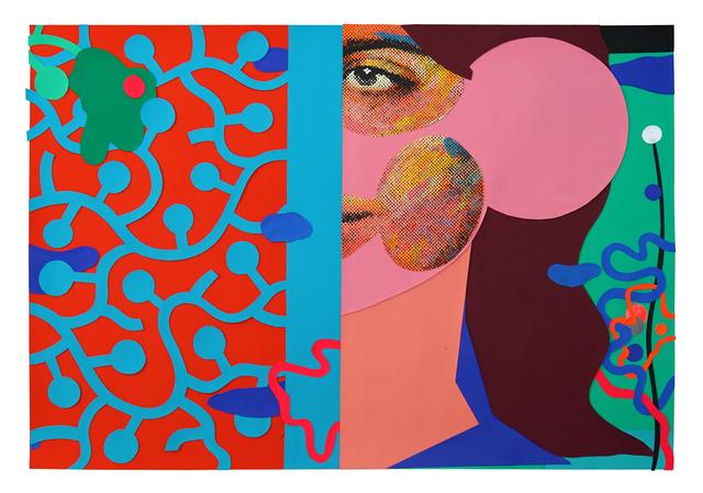 , 'Paper Cut 1,' 2018, Allouche Gallery