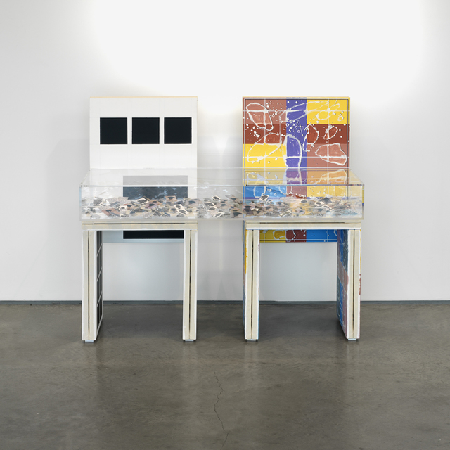 , 'OFFICIAL SQUARES AGAIN,' 2009, Galería Juana de Aizpuru
