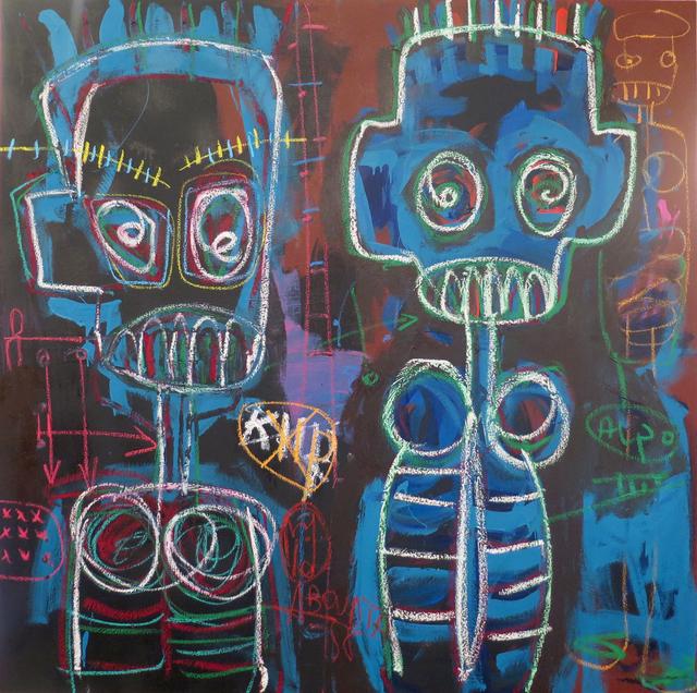 , 'Deux Môgôs,' 2017, Galerie Cécile Fakhoury - Abidjan