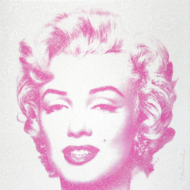 Mr. Brainwash, 'Diamond Girl (Purple) - Marilyn Monroe ', 2016, Denis Bloch Fine Art
