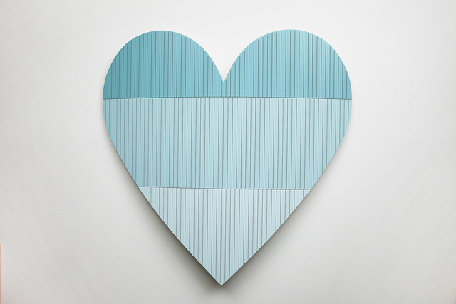 , 'Heart 3 (Blue),' 2016, Cade Tompkins Projects