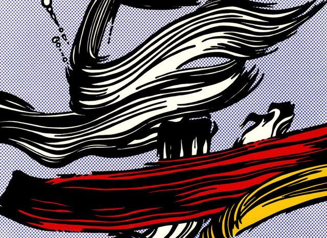 Roy Lichtenstein, 'Burshstroke', 1965, Kings Wood Art