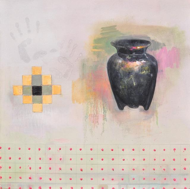 , 'Black Vase,' 2016, Joshua Tree Art Gallery