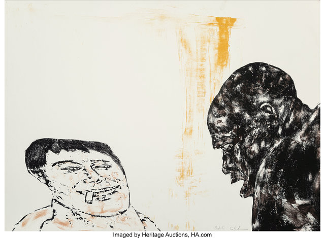 Leon Golub, 'Encounter', 1986, Heritage Auctions