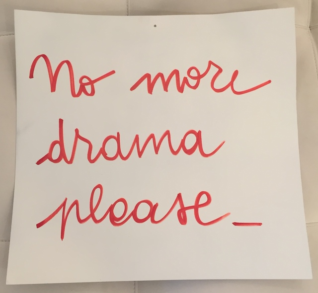 , 'No More Drama,' 2015, Galleria Ca' d'Oro