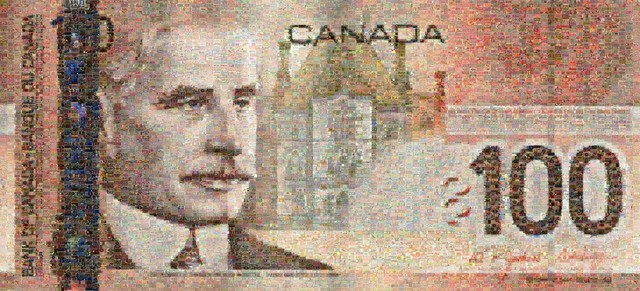 , 'Canadian 100 Bill,' 2005, Tangent Contemporary Art