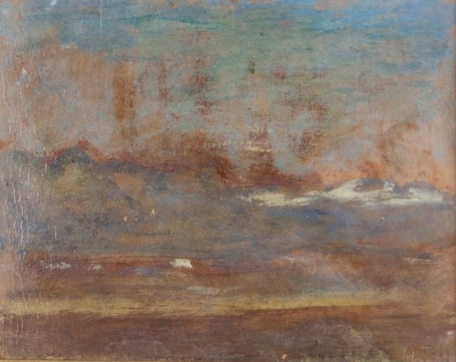 Arturo Tosi, 'Impressione', early 1910s, Painting, Oil on carboard, Aste Boetto