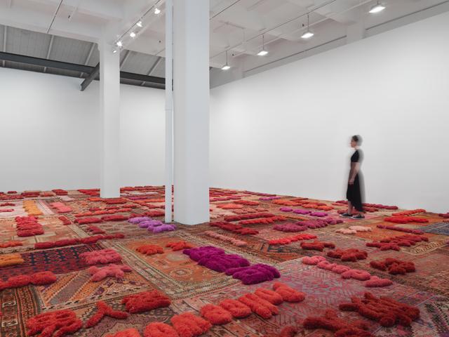 , 'Protruding Patterns,' 2014, Galerie Lelong & Co.