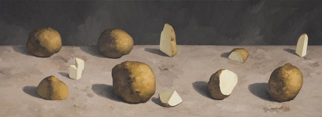 , 'Cutting Potatoes No.5,' 2015, Gallery Yang