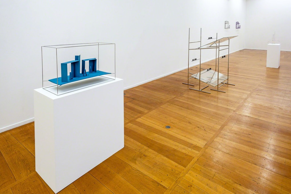Waltercio Caldas, exhibition view, galerie Xippas, Paris, 2017. Photo: Frédéric Lanternier