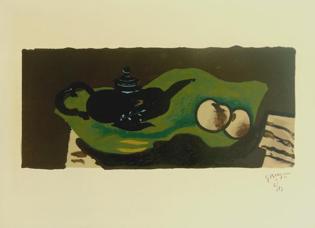 , 'Teapot and Apples   La théière et les pommes,' 1946, Gilden's Art Gallery