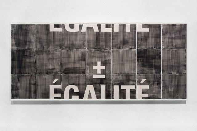 , 'Égalité,' 2015, Underdogs Gallery