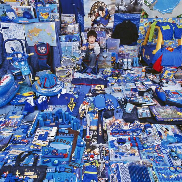 , 'Seunghyuk and His Blue Things,' 2007, Rosier Gallery