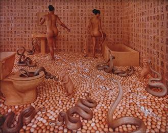 Sandy Skoglund, 'Walking on Eggshells,' 1997, Phillips: Photographs