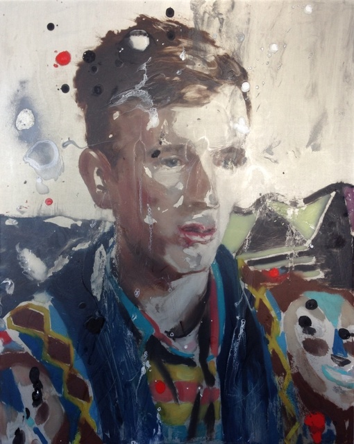 , 'Barnie Describing III,' 2014, Paradise Row