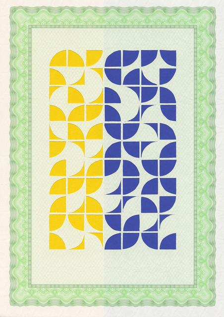 , 'De la serie Artesanías Modernas (1),' 2014, Oficina #1