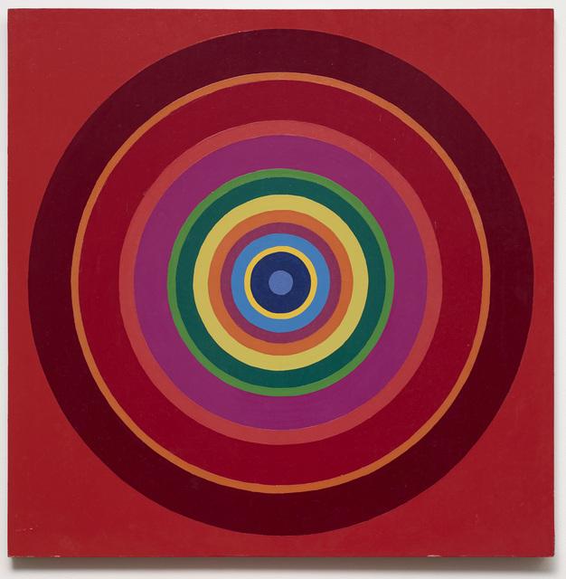 , 'Untitled (target painting),' 1966-1969, Galleri Bo Bjerggaard