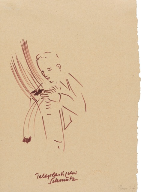 , 'Teleplastischer Schmutz,' 1974, Riva di Morcote Fine Arts