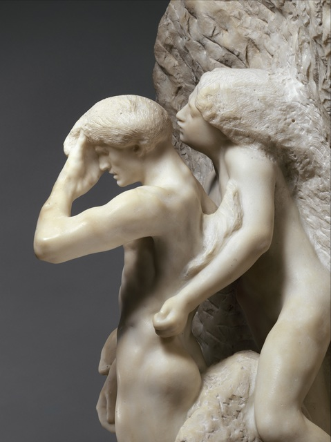 , 'Orpheus and Eurydice,' Modeled probably before 1887-carved 1893, The Metropolitan Museum of Art