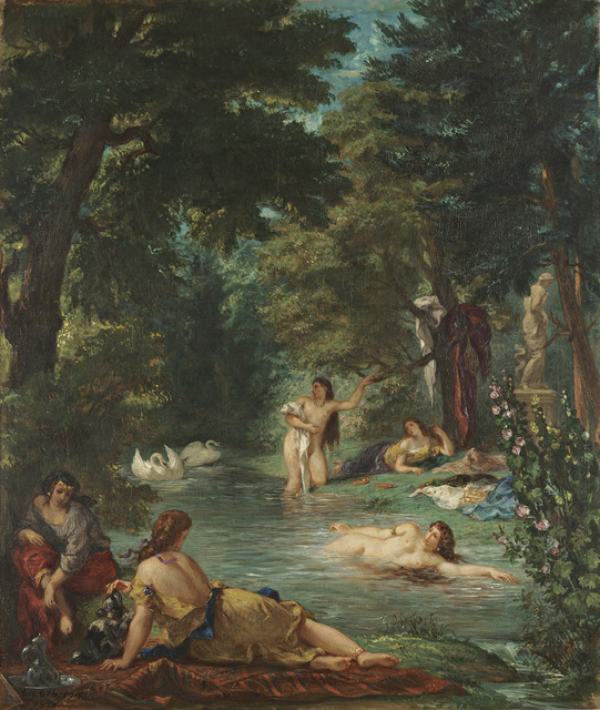 , 'Bathers,' 1854, The National Gallery, London