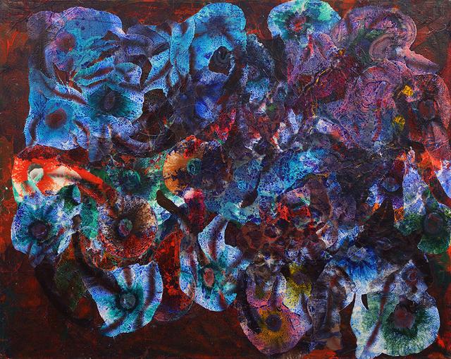 Herbert Creecy, 'Brazilian Romance: Cobalt Movement', 1997, Bill Lowe Gallery