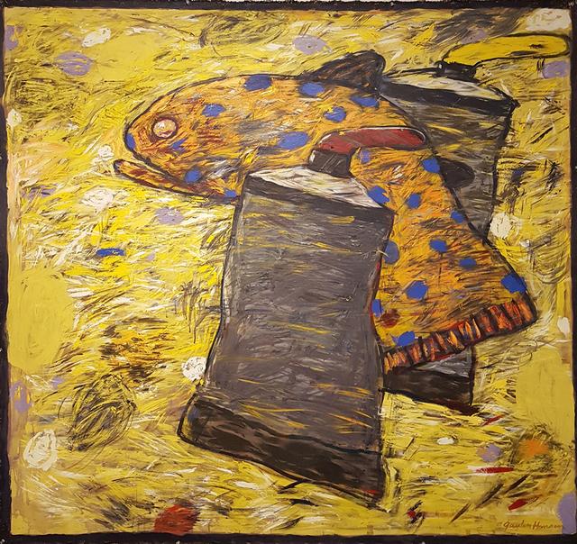 , 'Fish Between Paint Tubes,' 2008, Linda Hodges Gallery