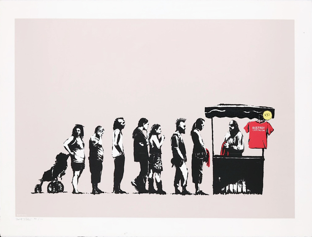 , 'Festival (Destroy Capitalism) - Rare Artists Proof,' 2006, Hang-Up Gallery