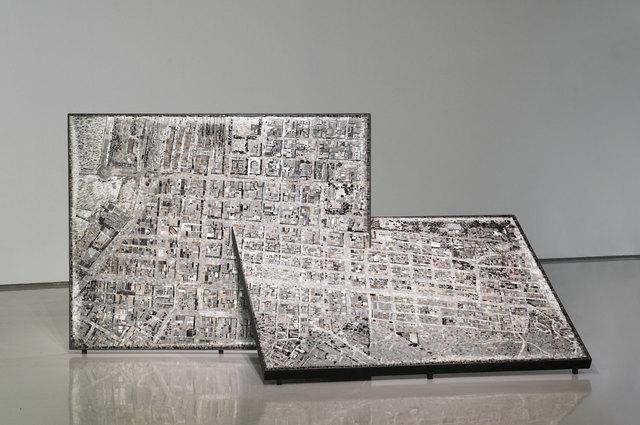 Gerhard Marx, 'Survey (CT 1926)', 2015, Sculpture, Stone inlay and steel, Goodman Gallery