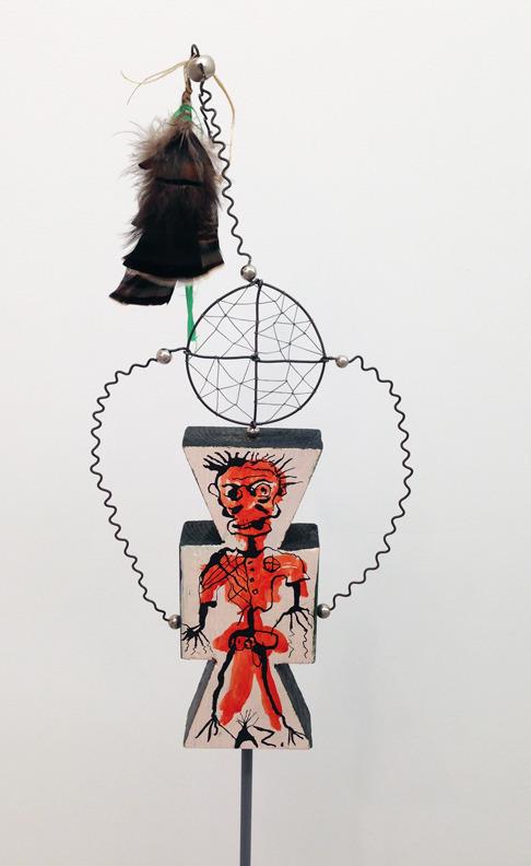 Brad Kahlhamer, 'Next Level Figure 4,' 2013, Jack Shainman Gallery