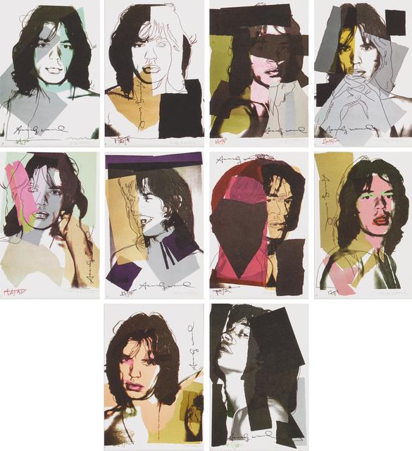 Andy Warhol, 'Mick Jagger', 1975, Rago
