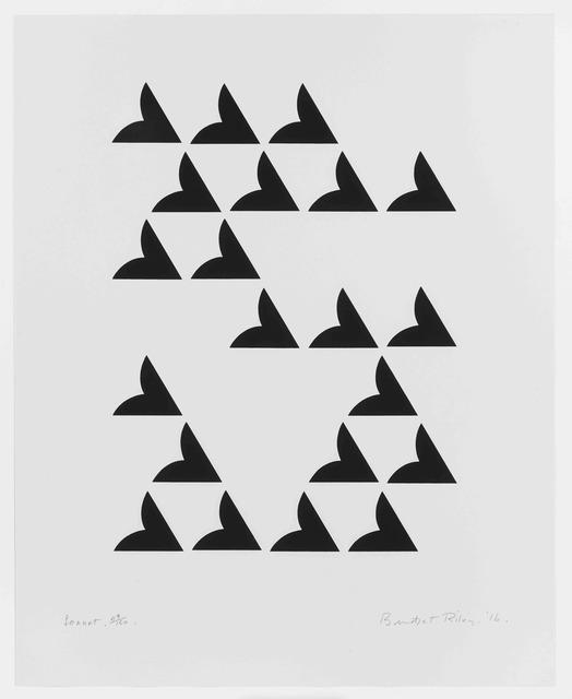 , 'Sonnet,' 2016, Karsten Schubert