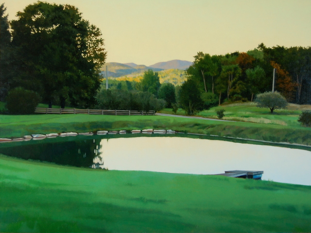 , 'Evening Pond,' 2017, West Branch Gallery
