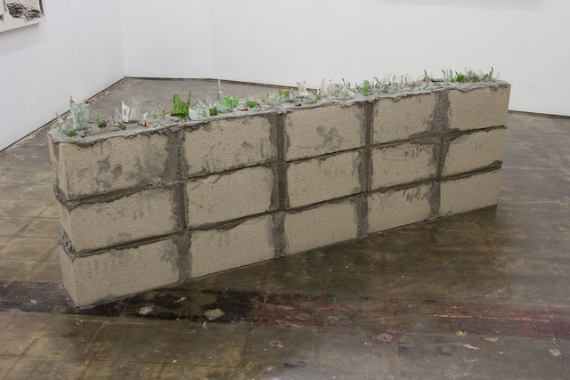 , 'Untitled (Wall),' 2016, SADE