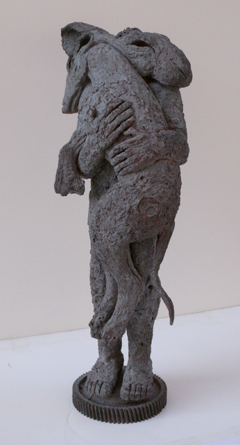 , 'Lady-Hare with Dog II (maquette),' 2002, Galerie de Bellefeuille