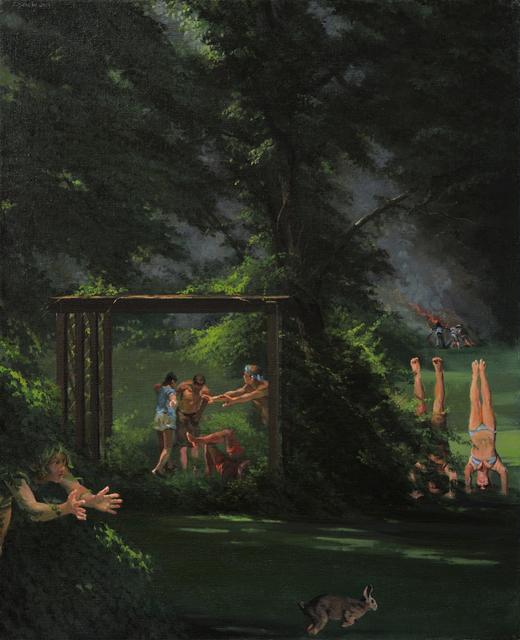 , 'Chasing The Rabbit,' 2019, Barney Savage Gallery
