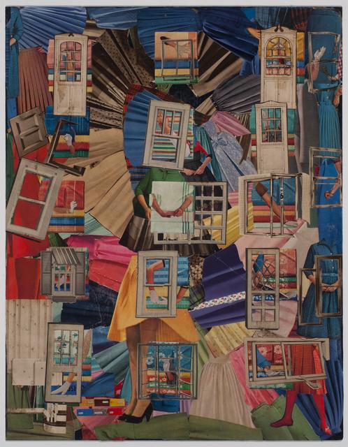 , 'Corner Cabinet,' 2017, Pavel Zoubok Gallery