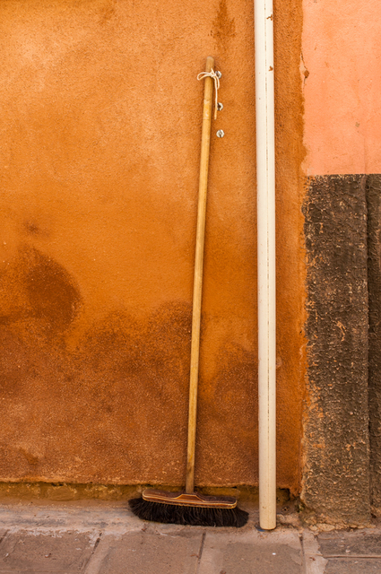 , 'Broom Red Wall, Venice,' , Soho Photo Gallery