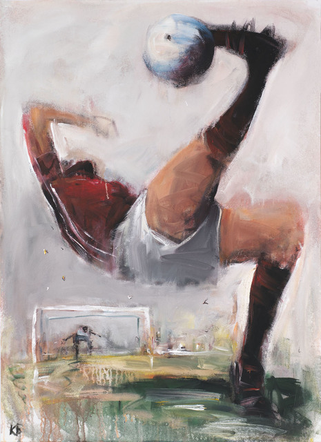 ", '""Football""1 ,' 2018, Krokin Gallery"