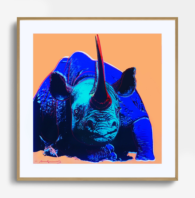 Andy Warhol, 'Black Rhinoceros', 1983, ArtLife Gallery