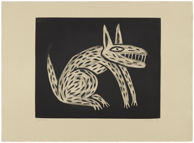 , 'Spotted Dog,' 1988, Gallery NAGA