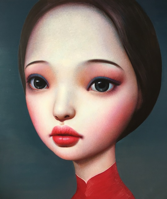 Zhang Xiangming, 'Beijing Girl', 2014, Painting, Oil On Canvas, Soemo Fine Arts