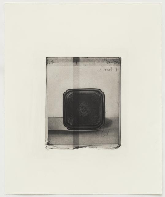 , 'Silver Tray,' 2015, Alan Cristea Gallery