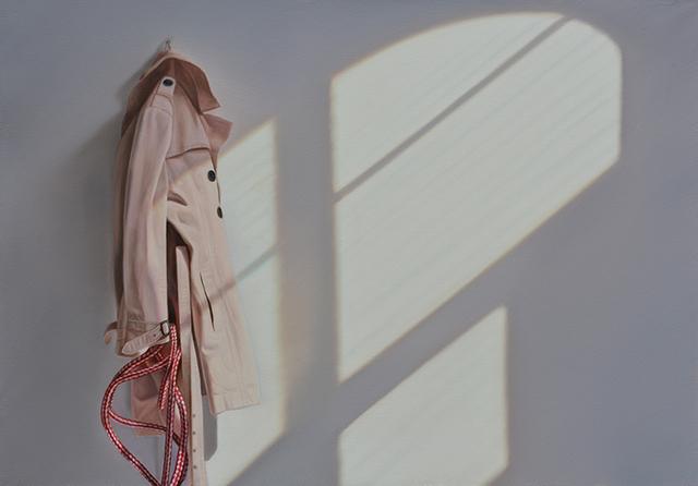 , 'Mantel mit Seil,' 2015, Galerie Friedmann-Hahn