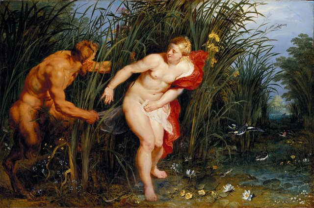 , 'Pan and Syrinx,' 1617, Royal Academy of Arts