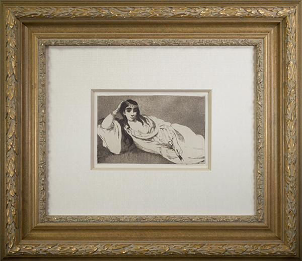 , 'Odalisque,' 1868, David Barnett Gallery