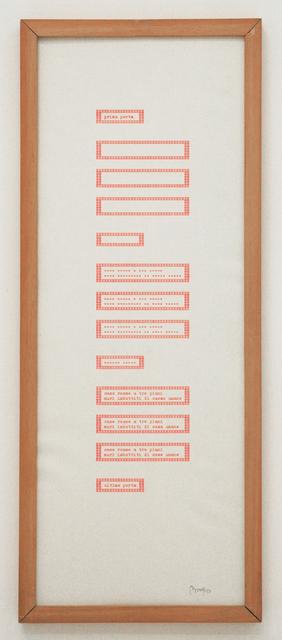 , 'Prima porta,' 1980, Tiziana Di Caro