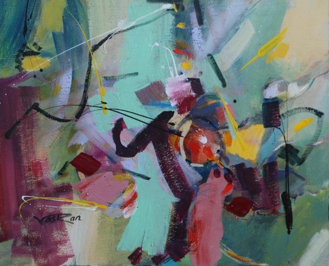 Voskan Galstian, 'Light Green', 2017, Vayer Art
