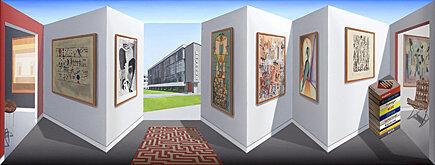 , 'Moving Bauhaus,' 2014, Galerie Boisseree