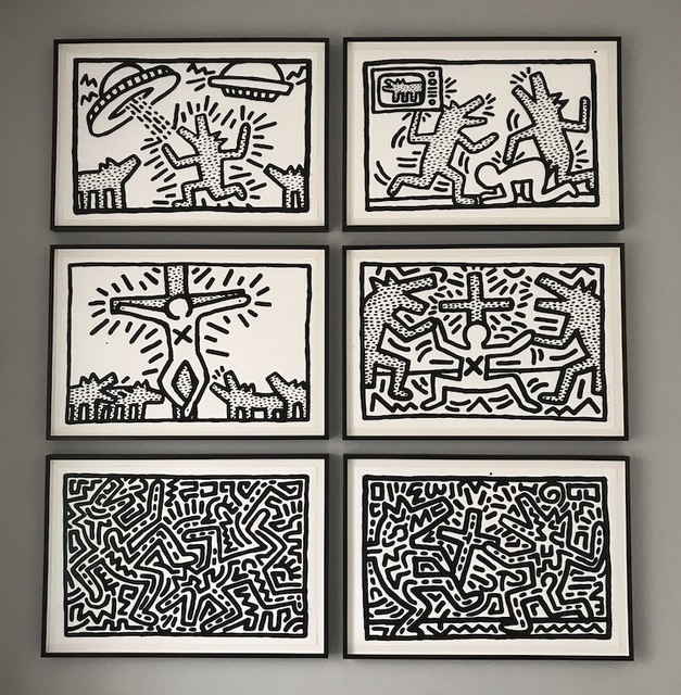 Keith Haring, 'Untitled (1-6 Complete Suite)', 1982, Rhodes