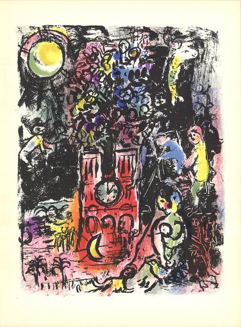 Marc Chagall, 'L'Arbre de Jesse', 1960, Ephemera or Merchandise, Stone Lithograph, ArtWise